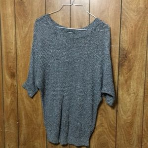 Express Gray Blouse Size S